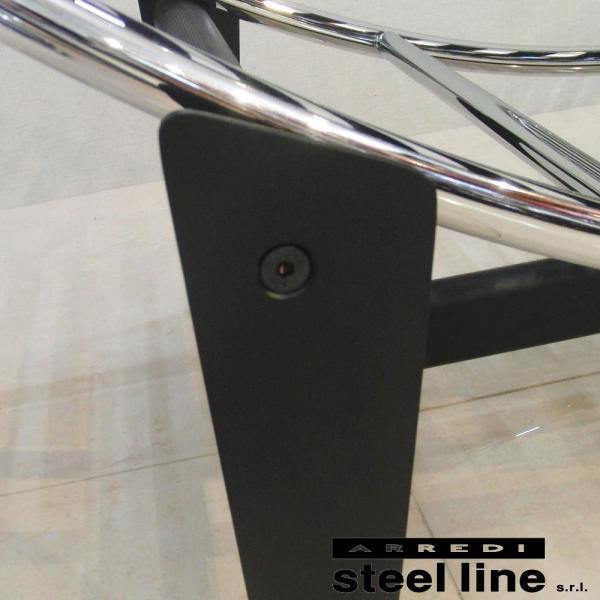ル・コルビジェ LC4 シェーズロング ポニースキン スティールライン社DESIGN900 (steelline) genufine-store 03