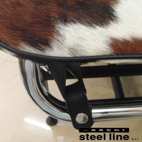 ル・コルビジェ LC4 シェーズロング ポニースキン スティールライン社DESIGN900 (steelline) genufine-store 05