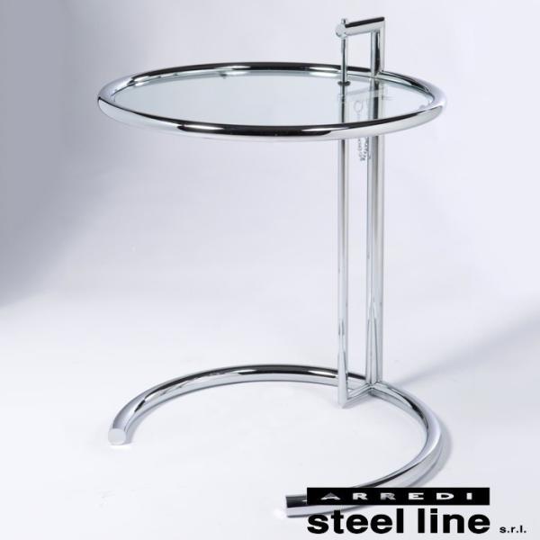 アイリーン・グレイ E1027 アジャスタブルテーブル スティールライン社DESIGN900 (steelline)|genufine-store|02