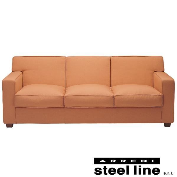 ジャン・ミシェル・フランク ソファ3P(ファブリック仕様) スティールライン社DESIGN900 (steelline)|genufine-store