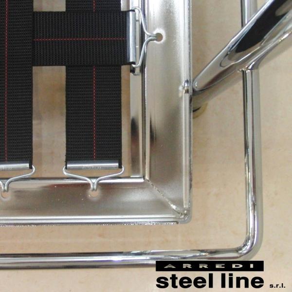 ル・コルビジェ LC2 3P(アニリン本革) スティールライン社DESIGN900 (steelline)|genufine-store|03