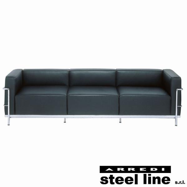ル・コルビジェ LC3 3P スティールライン社DESIGN900 (steelline)|genufine-store