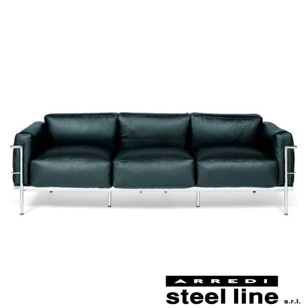 ル・コルビジェ LC3 プロトタイプモデル3P スティールライン社DESIGN900 (steelline)|genufine-store