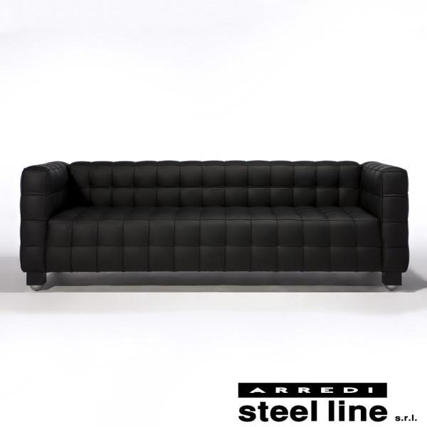 *20%OFFクーポン対象* ヨーゼフ・ホフマン クーブス3P スティールライン社DESIGN900 (steelline) genufine-store