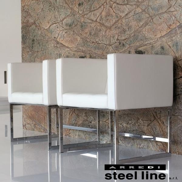 LIFE CLASSシリーズ BROADWAYアームチェア スティールライン社 (steelline)|genufine-store