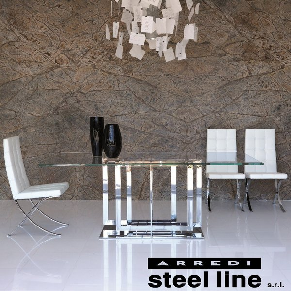 *20%OFF対象* LIFE CLASSシリーズ TRILOGYダイニングテーブル(W200) スティールライン社 (steelline)|genufine-store|03