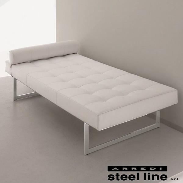 LIFE CLASSシリーズ CORTONAデイベッド スティールライン社 (steelline)|genufine-store