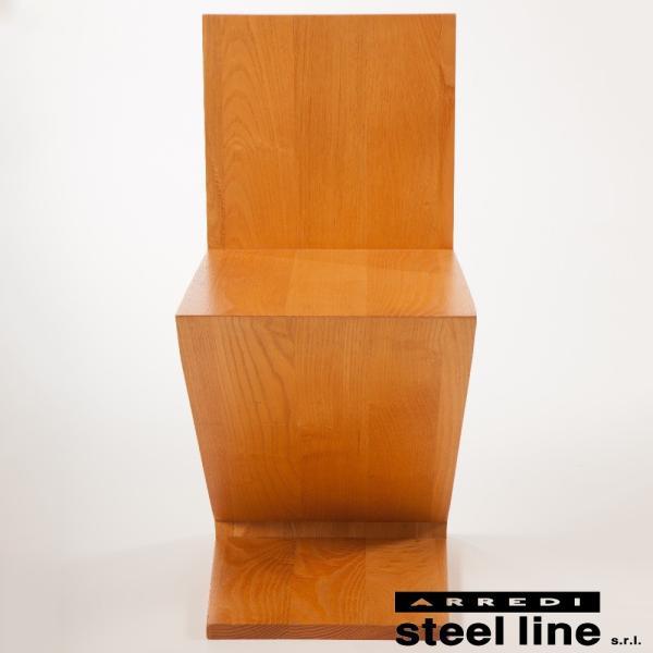 ヘリット・トーマス・リートフェルト ジグザグチェア スティールライン社DESIGN900 (steelline)|genufine-store|02