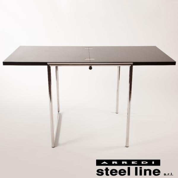 アイリーン・グレイ JEANフォールディングテーブル スティールライン社DESIGN900 (steelline)|genufine-store|02