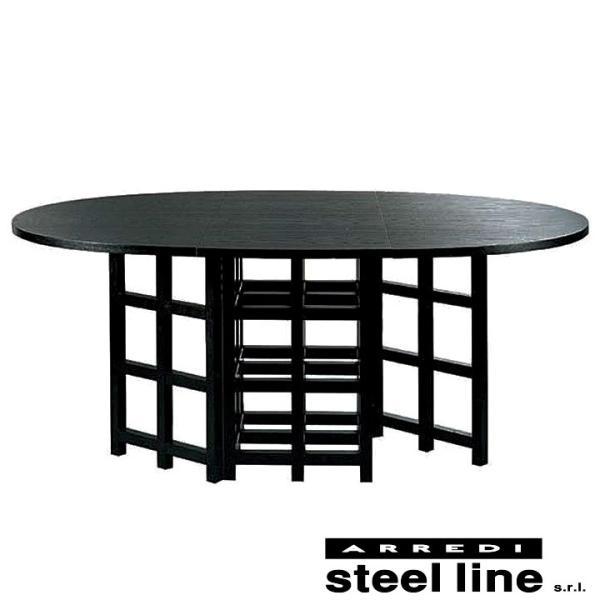 *20%OFF対象* C.R.マッキントッシュ D.S.1ダイニングテーブル スティールライン社DESIGN900 (steelline)|genufine-store
