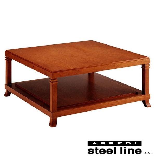 フランク・ロイド・ライト ロビーセンターテーブル スティールライン社DESIGN900 (steelline)|genufine-store