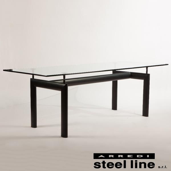 ル・コルビジェ LC6 ターブルチューブダビオン スティールライン社DESIGN900 (steelline)|genufine-store