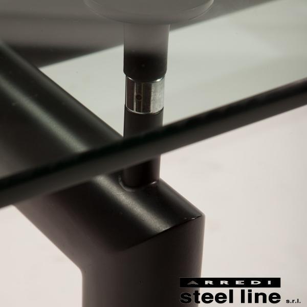 ル・コルビジェ LC6 ターブルチューブダビオン スティールライン社DESIGN900 (steelline)|genufine-store|02