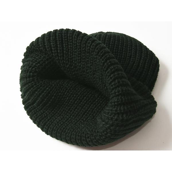 イルビゾンテ IL BISONTE ニット帽(ブラック)レザーパッチ付きニットキャップ/ニット帽 54182309183 レディース メンズ プレゼント【無料ラッピング対応】|geostyle|08