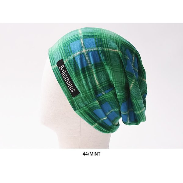 【人気第9位】ラッピング無料 ボヘミアンズ Bohemians オールドチェック ワッチキャップ メンズ レディース 帽子 OLD CHECK BH-09 geostyle 07