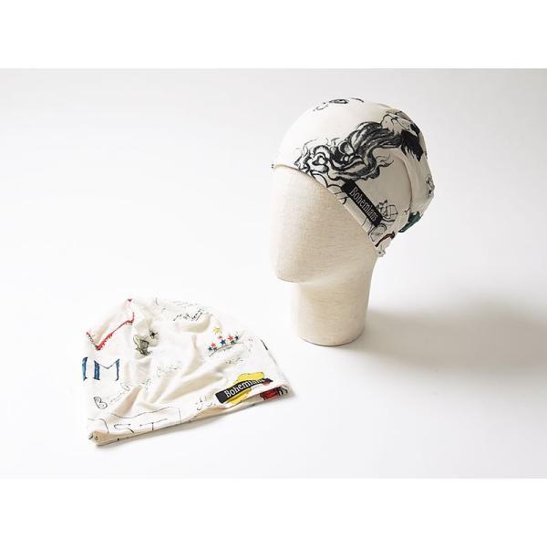 ラッピング無料 ボヘミアンズ Bohemians ロージー ワッチキャップ メンズ レディース 帽子 ROSY BH-09|geostyle|02