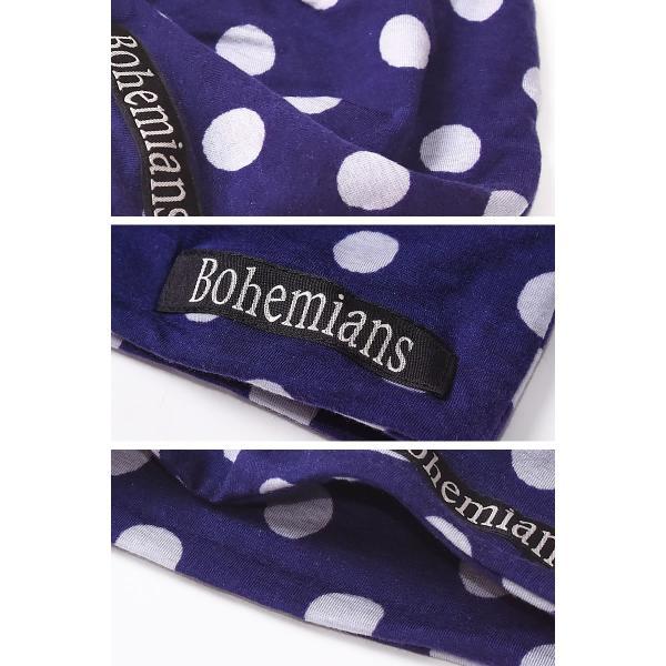 【人気第8位】ラッピング無料 ボヘミアンズ Bohemians スノードット ラージ ワッチキャップ メンズ レディース 帽子 SNOW DOTS LARGE BH-09 geostyle 05