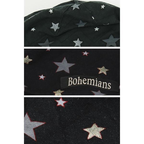 Bohemians ボヘミアンズ ワッチキャップ 帽子 スパークスター 星柄 メンズ レディース 人気 SPARK STAR BH-09 ケア帽子 インナーキャップ geostyle 04