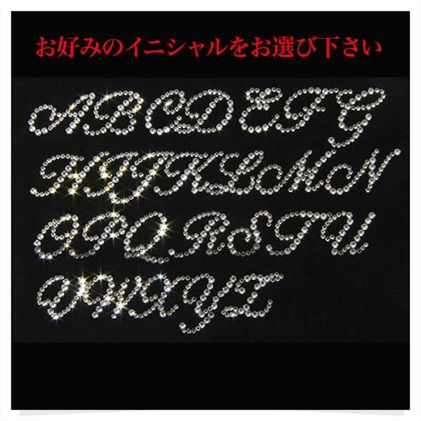SWAROVSKI ポーチ イニシャル 化粧ポーチ 小物入れ キラキラ 贈り物 プレゼント 誕生日 記念日 geschenk 03