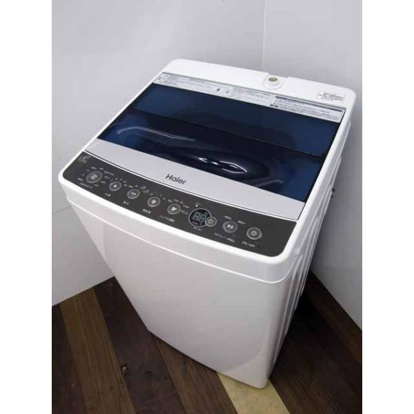 洗濯機 ハイアール JW-C55A 5.5kg ブラック 2018年製