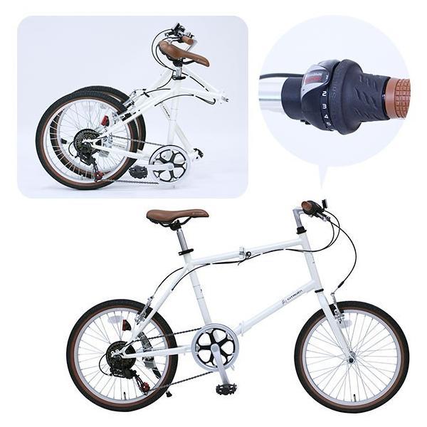 自転車 シトロエン ミニベロ6段 折り畳み 引換券 A3パネル (ビンゴ 景品 ゴルフコンペ)|getclub|04