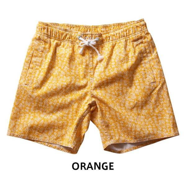 水着 サーフパンツ レディース オレンジ