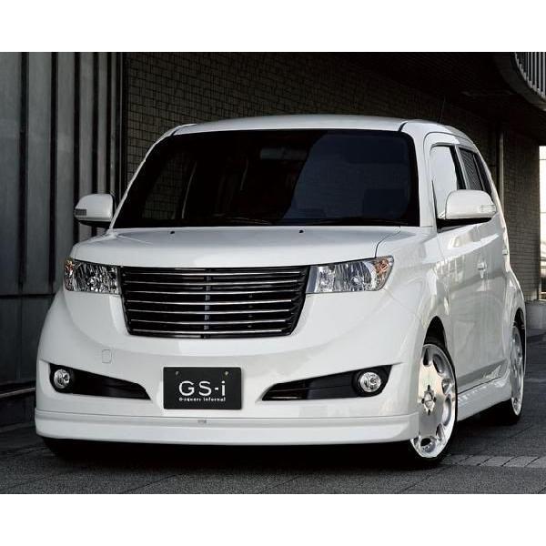 トヨタ TOYOTA bB QNC 20系 フロントスポイラー FRP製 未塗装 GS-i bB|gfactory|04