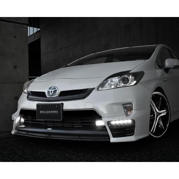 プリウス 30系 MC後 リアアンダースポイラー カーボン+塗装済 BALSARINI PRIUS gfactory 02