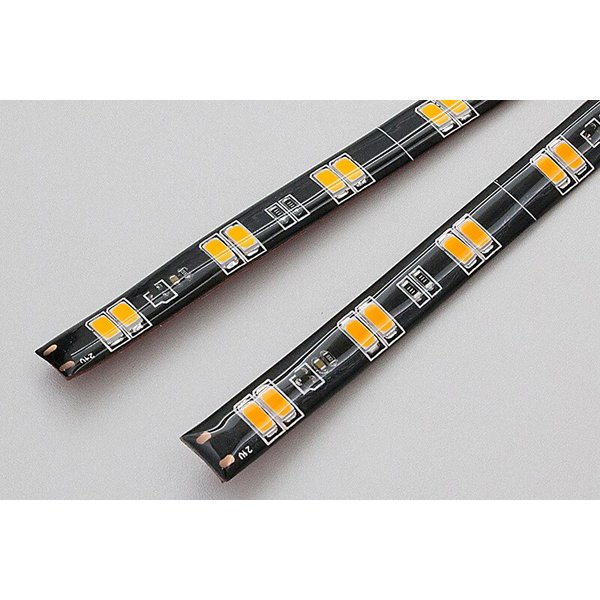 シーケンシャルウインカー 流れるウインカー LED テープライト 24V 57センチ 48連 2本入り 正面発光 シリコン トラック 保証1年 送料無料|gfactory|02