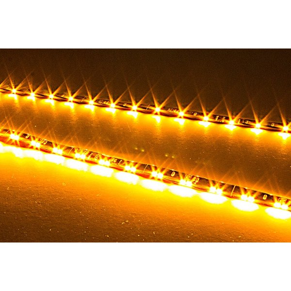 シーケンシャルウインカー 流れるウインカー LED テープライト 24V 57センチ 48連 2本入り 正面発光 シリコン トラック 保証1年 送料無料|gfactory|11