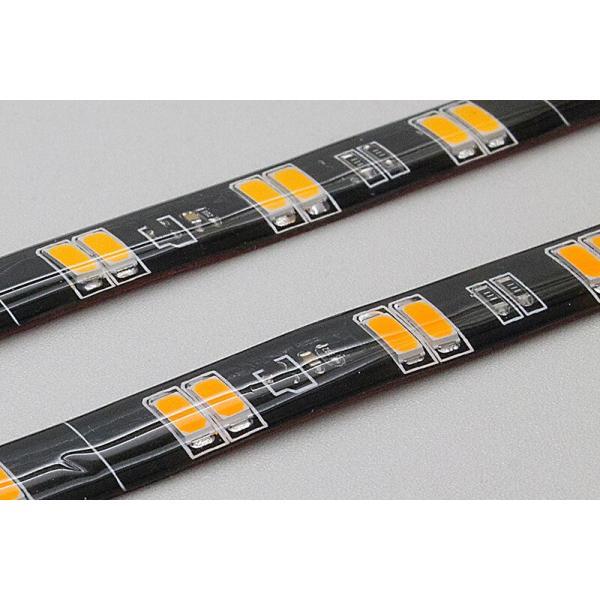シーケンシャルウインカー 流れるウインカー LED テープライト 24V 57センチ 48連 2本入り 正面発光 シリコン トラック 保証1年 送料無料|gfactory|03