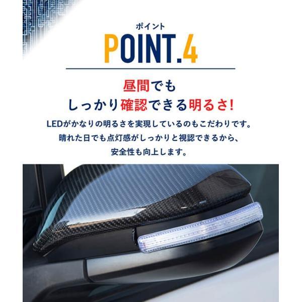 シーケンシャルウインカー 流れるウインカー LED テープライト 12V 17センチ 28連 2本入り クリアチューブ 簡単取付 保証半年 送料無料|gfactory|07
