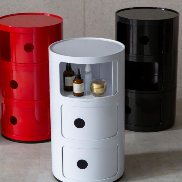 コンポニビリ 3段 リプロダクト デザイナーズ家具 収納ボックス チェスト 北欧 フタ付き おしゃれ プラスチック  @83316|ggbank|02