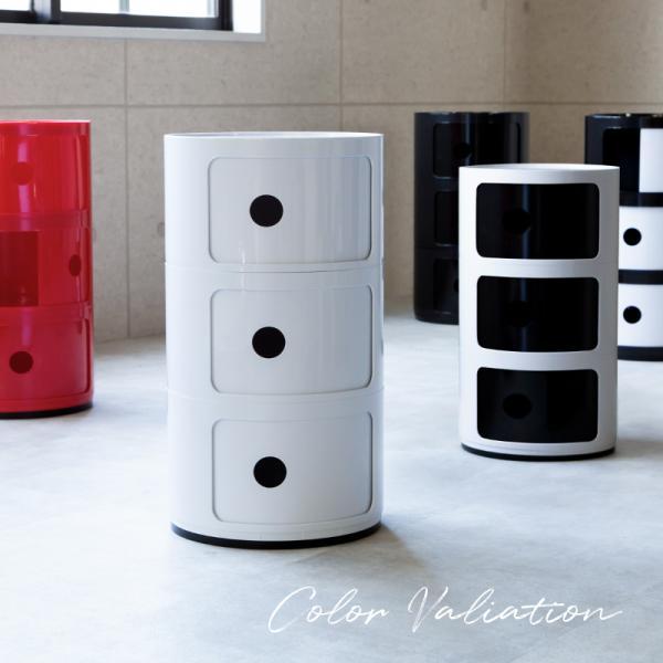 コンポニビリ 3段 リプロダクト デザイナーズ家具 収納ボックス チェスト 北欧 フタ付き おしゃれ プラスチック  @83316|ggbank|05