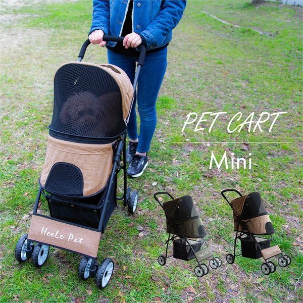 送料無料 ペットカート 4輪 軽量 ペット用品 キャリーカート 車 バギー 折りたたみ 多頭 犬用 猫用 小型犬 中型犬 おしゃれ 散歩 買い物