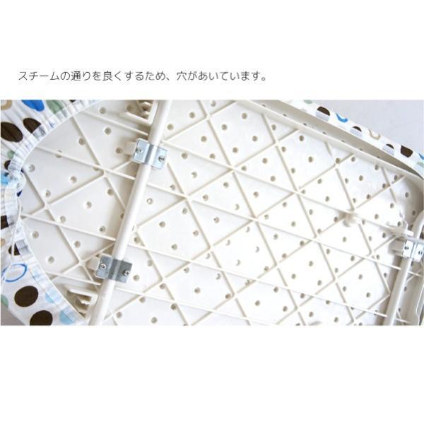 アイロン台 平型 舟型 スタンド式 コンパクト おしゃれ 折りたたみ スチーム対応 シンプル 軽量 折り畳み スタンド式 平形 舟形  _a779|ggbank|04