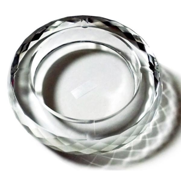 ec835ad0e6 GREEM MARKET(グリームマーケット) 円形 アラウンド 多角形 卓上 高級クリスタルガラス ガラス製 ...