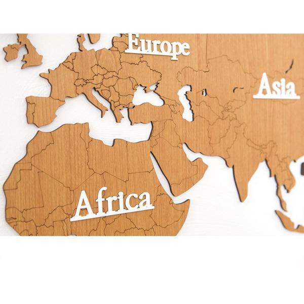 1353b7d248 ... GREEM MARKET(グリームマーケット)掛け時計 世界 時計 世界地図 北欧 ウッド DIY 品番: ...