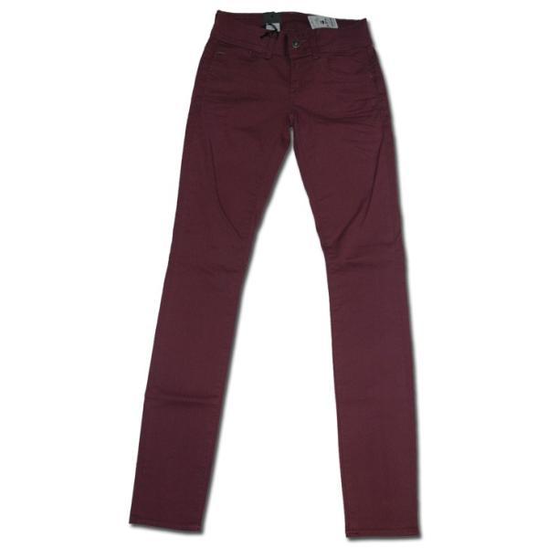 G-STAR RAW (ジースターロゥ) Lynn Mid Skinny Color Jeans (リーンミッドスキニーカラージーンズ) 中厚カラーストレッチデニム