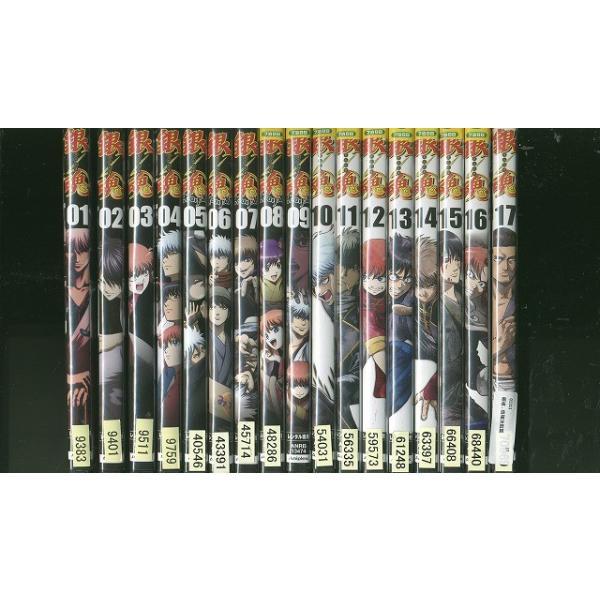 銀魂. 1〜17巻セット(未完) DVD レンタル版 レンタル落ち 中古 リユース|gift-goods