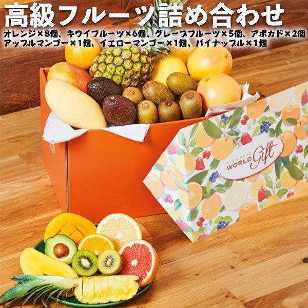 高級 フルーツ 詰め合わせ オール・スター オレンジ キウイフルーツ グレープフルーツ アボカド アップルマンゴー イエローマンゴー パイナップル 送料無料