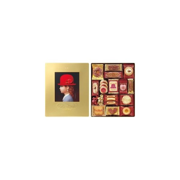 内祝い ギフト 赤い帽子 ゴールド 190423065 16469|gift-hokkaido
