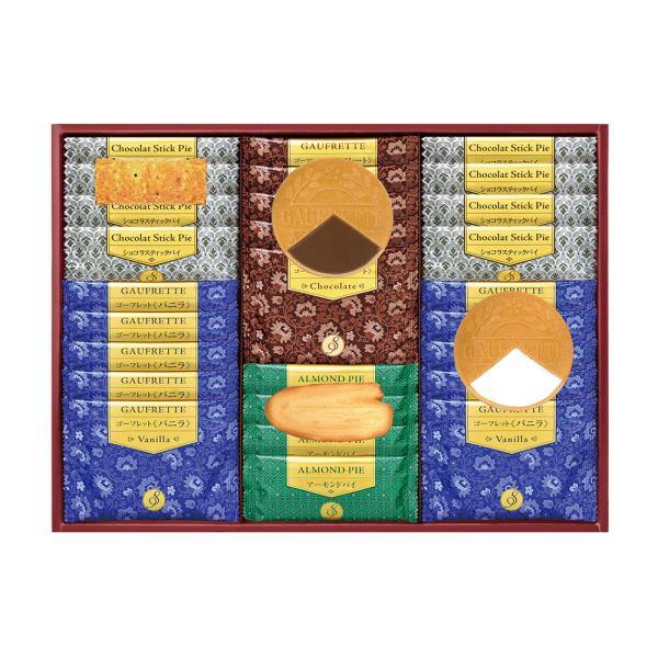 せんべい 米菓ギフト詰め合わせ Senjudoゴーフレット+Pie WS-30F| せんべい 米菓ギフト詰め合わせ お中元 御中元 お歳暮 御歳暮 お年賀 内祝い