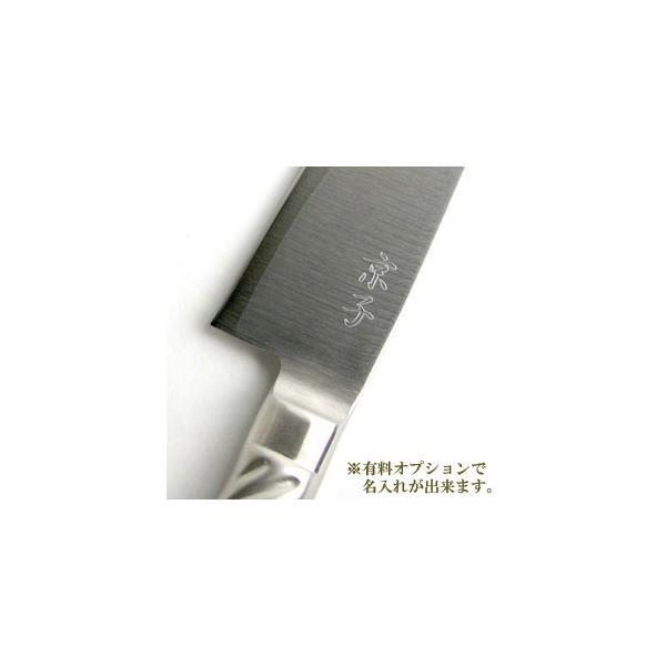 藤寅作 ( 藤次郎 ) DPコバルト合金鋼割込 口金付ステンレス包丁セット ( ペティナイフ 120mm / 三徳包丁 170mm )|gift-only|03