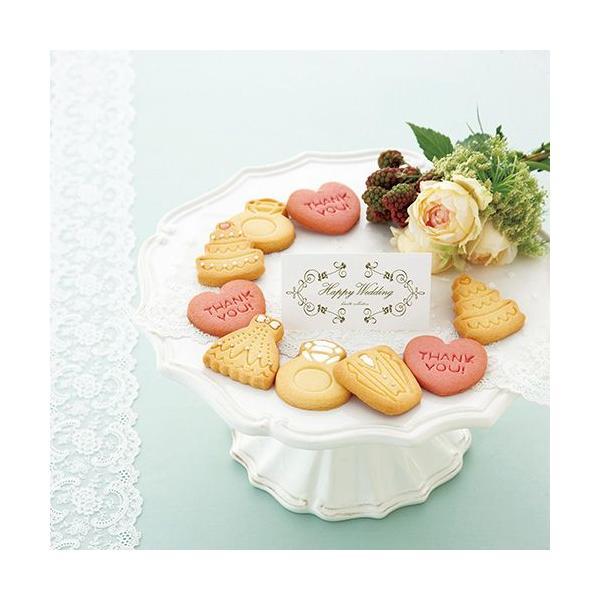 ( プチギフト ) Wedding Cookie ( ※10個より )  プレゼント 記念品 結婚式 引き出物 パーティー