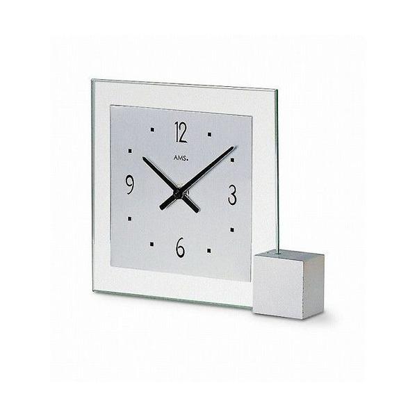 ドイツAMS・置き時計(AMS 102) ブランド 海外 おしゃれ クロック シンプル