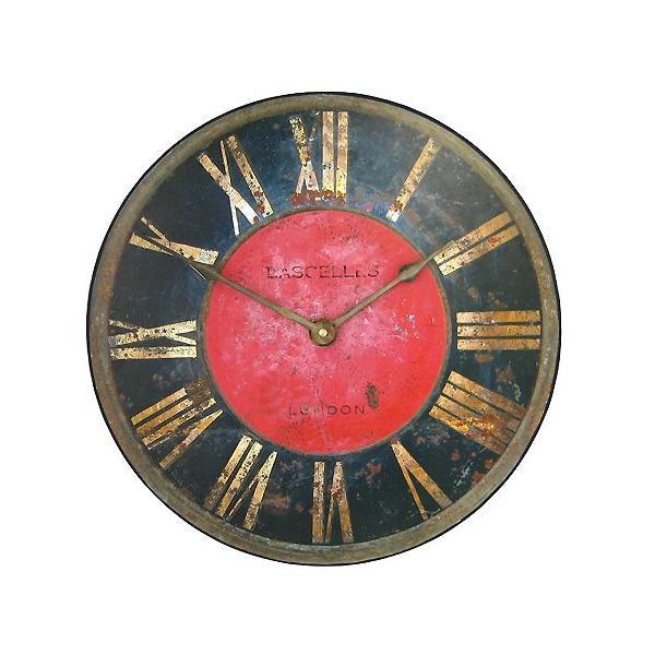 ロジャー・ラッセル 英国製古城風掛け時計 ブランド 海外 おしゃれ クロック