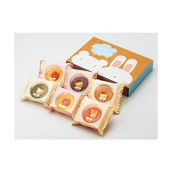 カリーノ / アニマルドーナツ6個 お菓子 プレゼント お返し かわいい 出産祝い