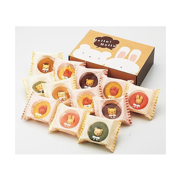 カリーノ / アニマルドーナツ12個 お菓子 プレゼント お返し かわいい 出産祝い