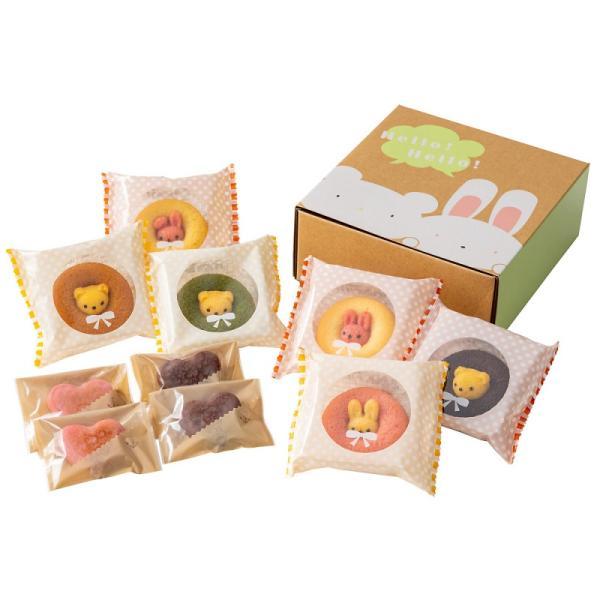洋菓子セット / アニマルドーナツ&焼菓子セットA お菓子 プレゼント お返し かわいい 出産祝い